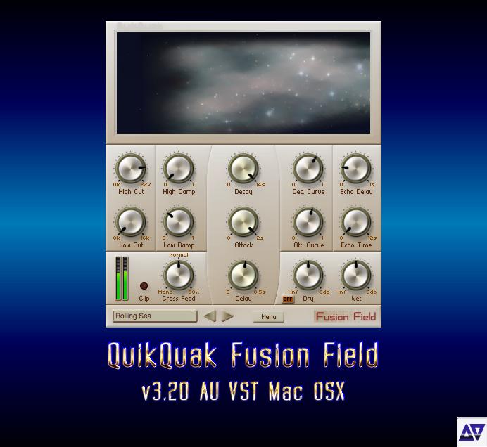Download QuikQuak Fusion Field v3 20 AU VST Mac OSX » AudioZ