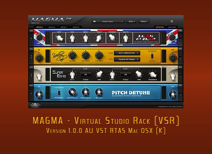 Download Nomad Factory MAGMA - (VSR) v1 0 0 AU VST RTAS Mac