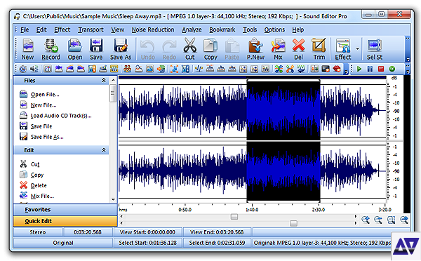 Download Sound Editor Pro v7 5 1 incl Serial » AudioZ