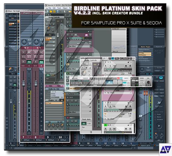 Download Birdline Platinum Skin Pack v4 2 2 (for samplitude