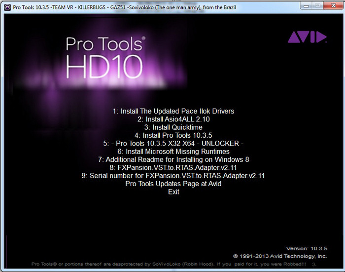 Avid pro tools with 1-year of updates + support plan perpetual.