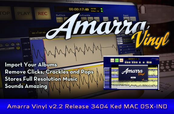 Download Amarra Vinyl v2 2 Release 3404 Ked MAC OSX-IND » AudioZ