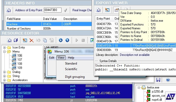 Download PE Explorer - View, Edit, and Reverse Engineer EXE