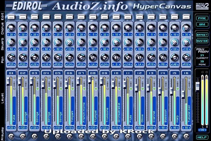 Edirol HQ-GM2 Hyper Canvas