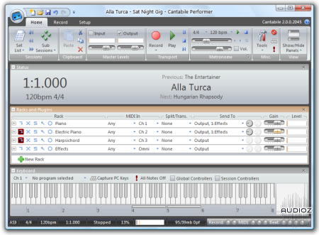 cantabile vst host download