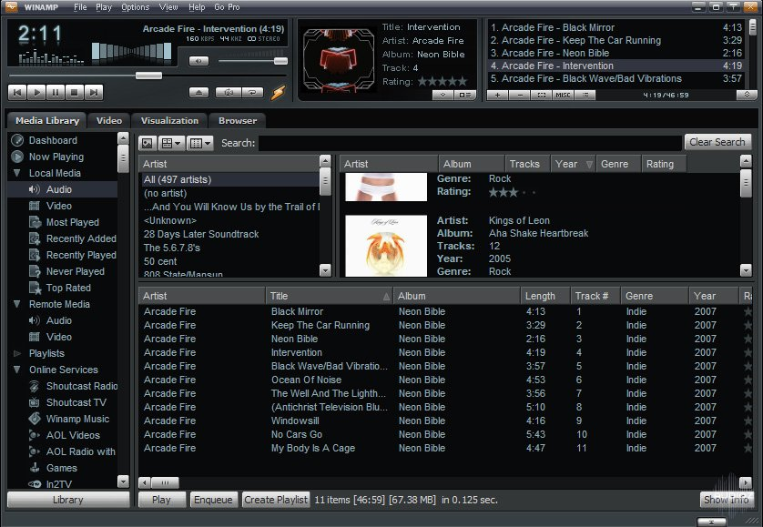 Winamp 5.7 download free