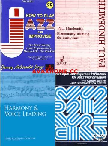 Download Music Theory Ebooks Collection Audioz