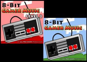 Download All Pro Loops 8-Bit Gamer Music Level 1-2 WAV MiDi-DISCOVER