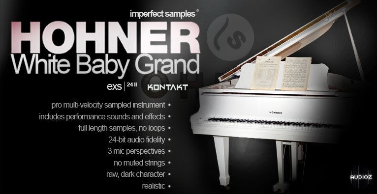 Download Imperfect Samples White Baby Grand Complete Edition NKI WAV