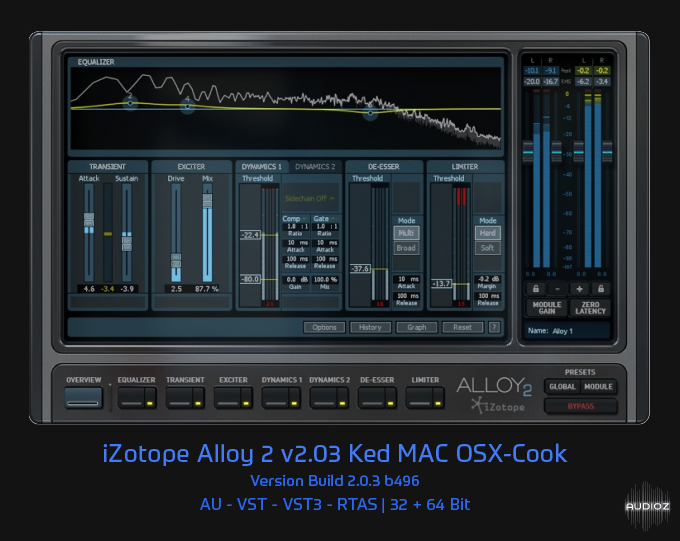 Download iZotope Alloy 2 v2 03 Ked MAC OSX-Cook » page 2