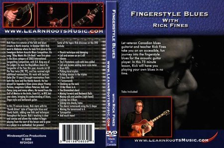 Download Learn Roots Music - Fingerstyle Blues - Rick Fines » AudioZ