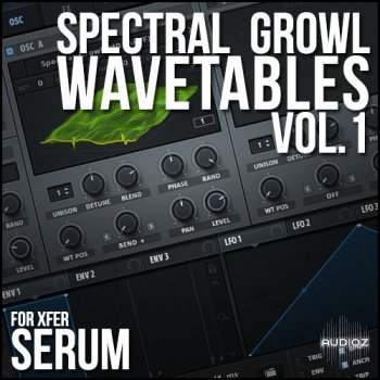 Download Spectral Growl Wavetables Vol  1 for Xfer Serum