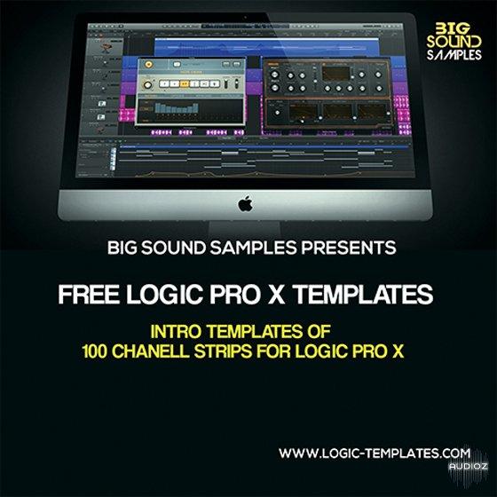 Free Edm And Rnb Logic Pro X Templates Screenshot