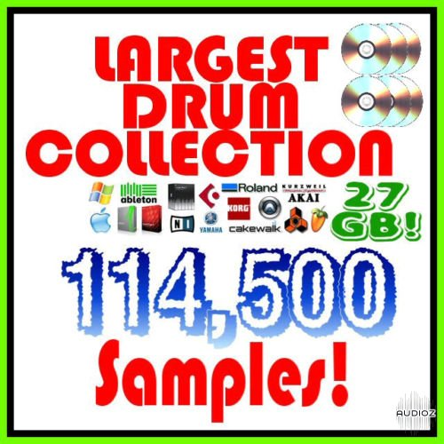 Download [dead] 27GB Drum Collection (114,500+ Samples) » AudioZ