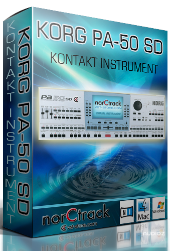 Download norCTrack - KORG PA-50 SD (Kontakt) » AudioZ