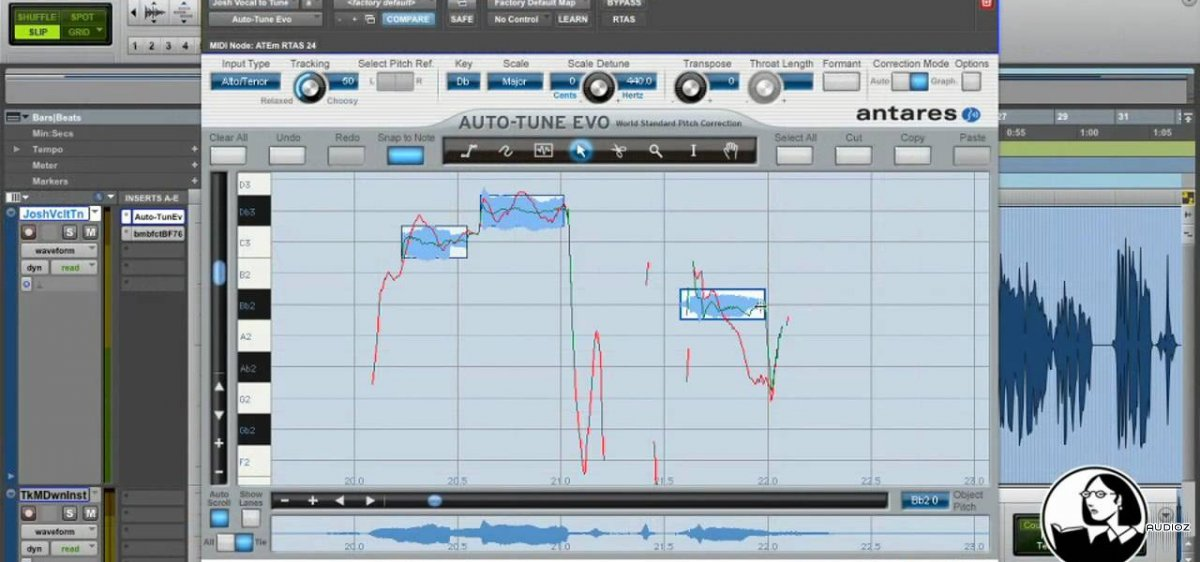 auto tune pitch correction software free download