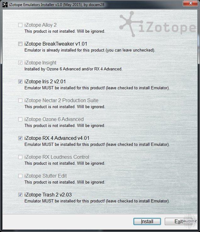Download iZotope Emulators Installer v1 1 » page 2 » AudioZ