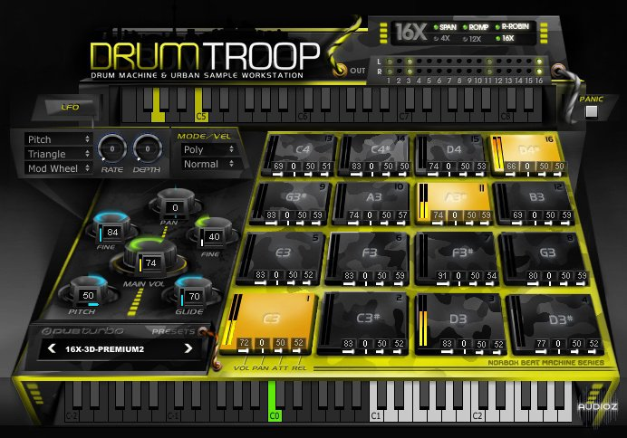 download dubturbo drumtroop win x32 x64 mac au vst audioz. Black Bedroom Furniture Sets. Home Design Ideas