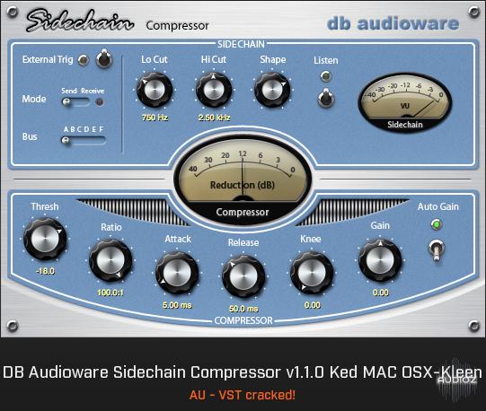 sidechain compressor db audioware