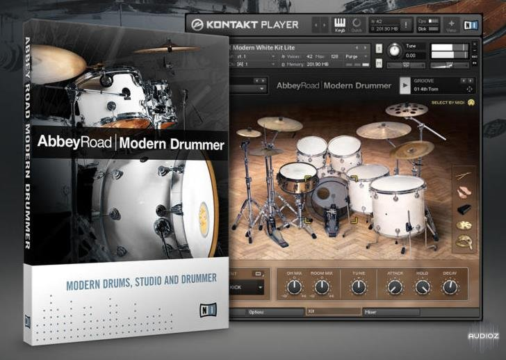 Download Native Instruments Abbey Modern Drummer v1 3