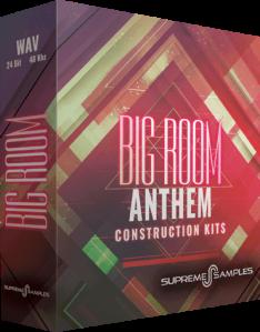 Supreme Samples Big Room Anthem WAV MiDi-DISCOVER screenshot