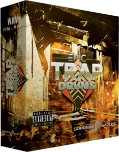 Supreme Samples Epic Trap Drums WAV-DISCOVER screenshot