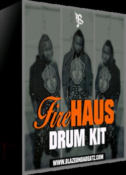 Download BlazeOnDaBeatz FireHAUS DrumKit Vol 1 WAV SOUNDFONT