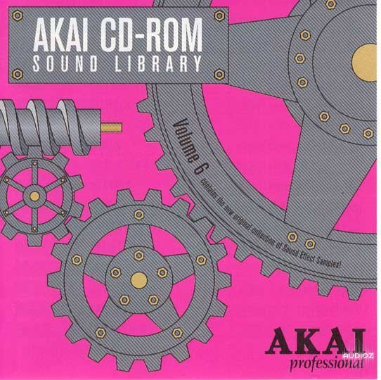 Download Akai CD-ROM Sound Library Volume 6 - Sound Effects iSO ...