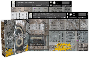 Rattly And Raw The Cassyntherette KONTAKT