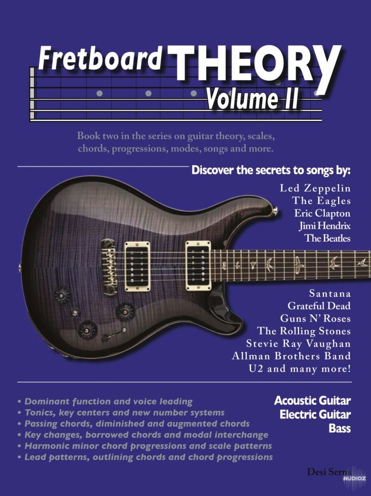 Download Desi Serna Fretboard Theory Vol2 Guitar Scales Chords