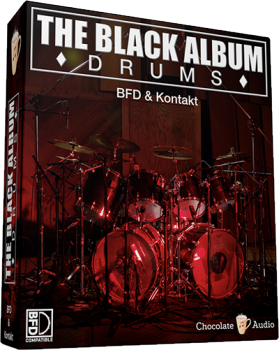 Chocolate Audio The Black Album Drums For BFD3 screenshot