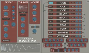 Download Guda Audio DrumR v2 4 [WiN-OSX] Incl Keygen-R2R » AudioZ