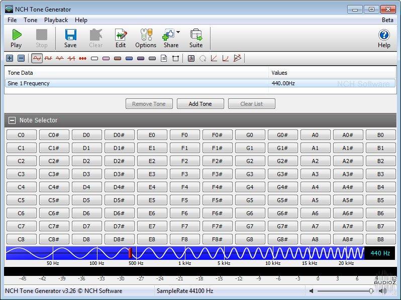 Download NCH Tone Generator 3 26 Incl Keygen » AudioZ