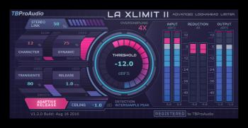 TBProAudio LA xLimit II v1.2.5 Incl Cracked and Keygen-R2R screenshot