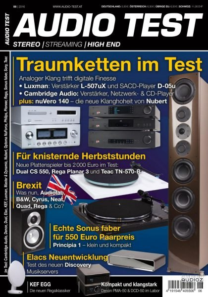 Download Audio Test - Nr 6 2016 » AudioZ