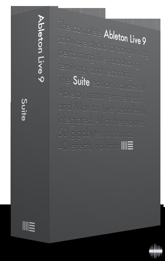 Download Ableton Live Suite 9 7 MAC OSX » AudioZ