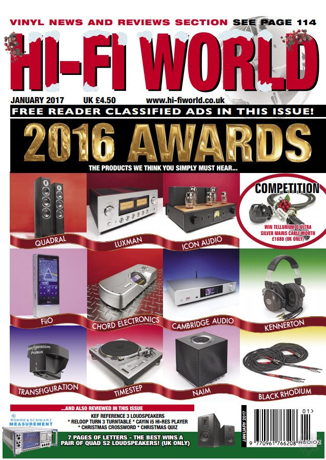Download Hi-Fi World - January 2017 » AudioZ