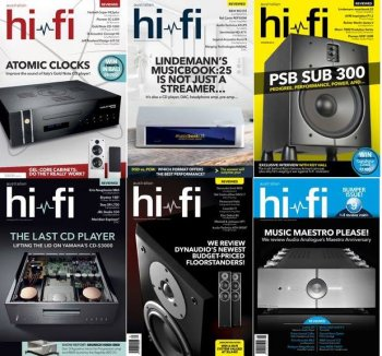 Australian hifi 2016 full year issues collection screenshot