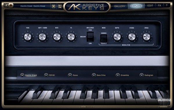 how to use xln addictive keys
