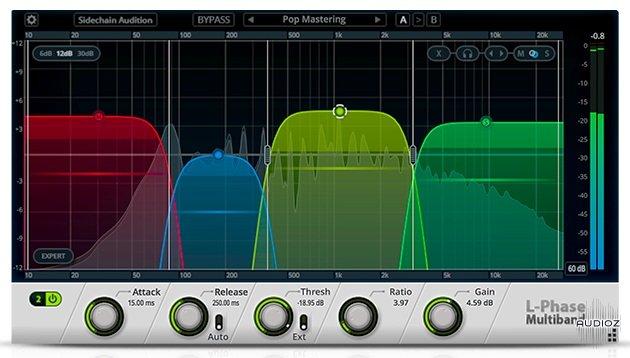 Download Cakewalk L-Phase Multiband Compressor WiN v1 0 3 84 OSX v1
