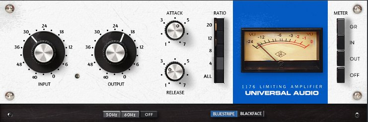 Download 1176LN Classic Limiting Amplifier Skin for Waves - By