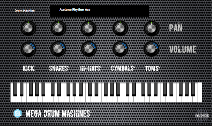 Download Autodafe Mega Drum Machines VST AU MAC/WiN FREE » AudioZ