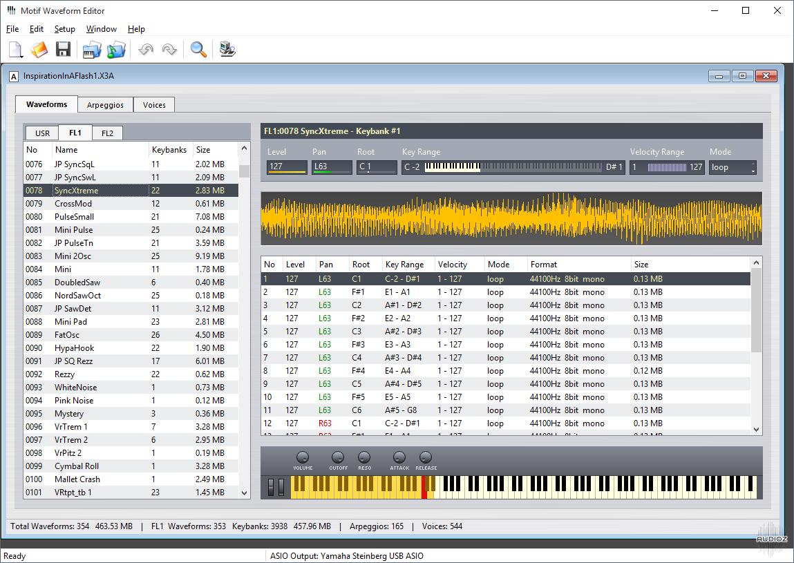 Download John Melas Motif Waveform Editor v2.0.0 » AudioZ