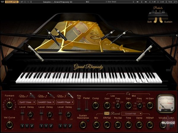 Download Waves Grand Rhapsody Library v1 0 (HD and SD)-R2R