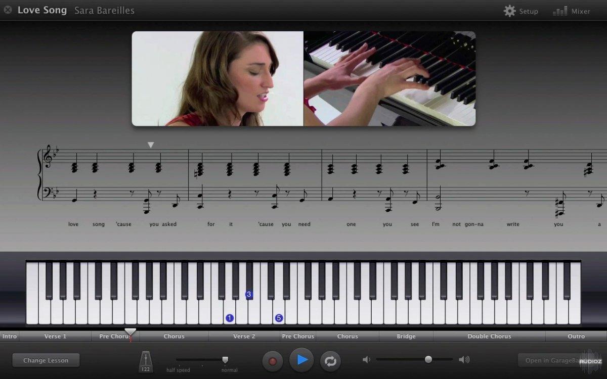 Piano Garage Band : Download garageband artist lessons all piano audioz