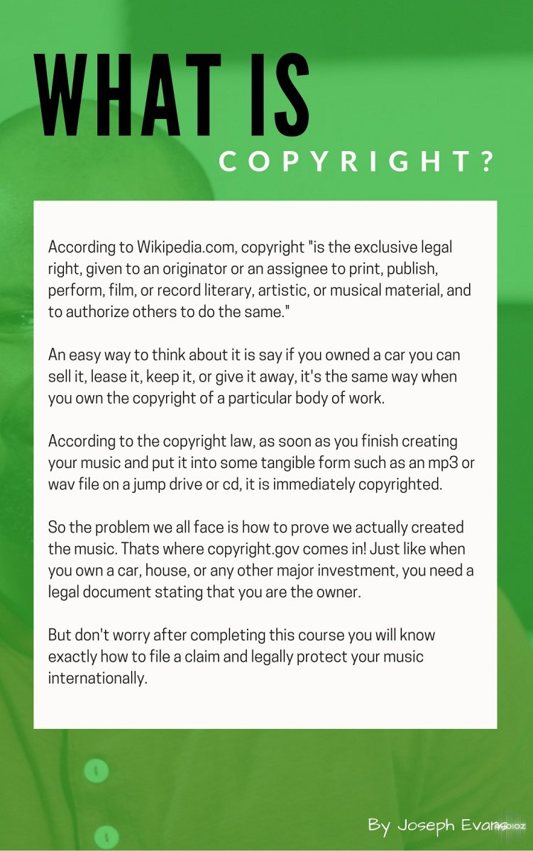 Download Udemy - Music Copyright Basics: Learn How to Protect Your