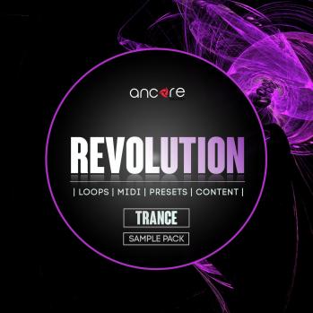 Ancore Sounds Trance Revolution WAV MiDi LENNAR DiGiTAL SYLENTH1 REVEAL SOUND SPiRE LOGiC ES2-DISCOVER screenshot