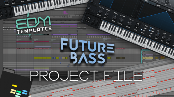 Future Bass Template [Free] screenshot