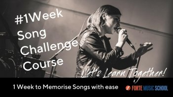 The 1 Week Song Challenge Course - Learn How To Memorise In One Week! screenshot