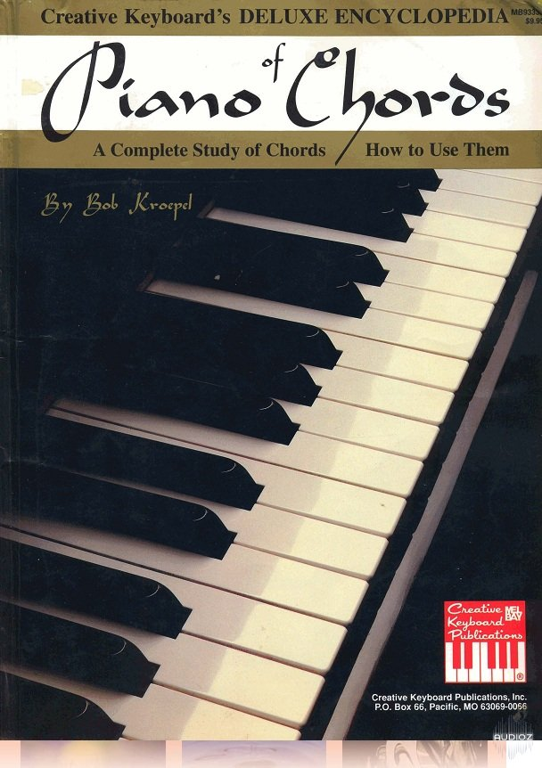 Download Mel Bay Deluxe Encyclopedia Of Piano Chords A Complete